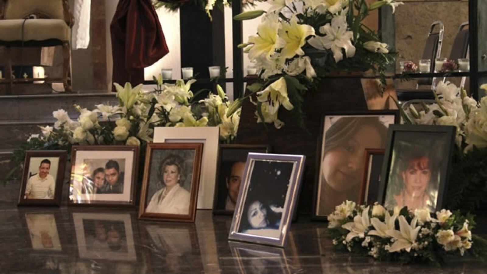 fotografias de las victimas del incendio en el casino royale a un año de la tragedia