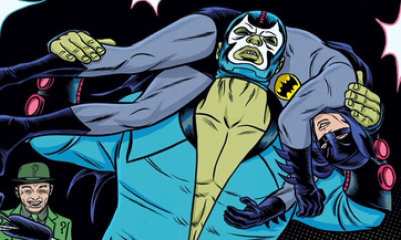 Bane obtiene su fuerza de un suero cargado con estereoides. (Foto: DCComics.com )