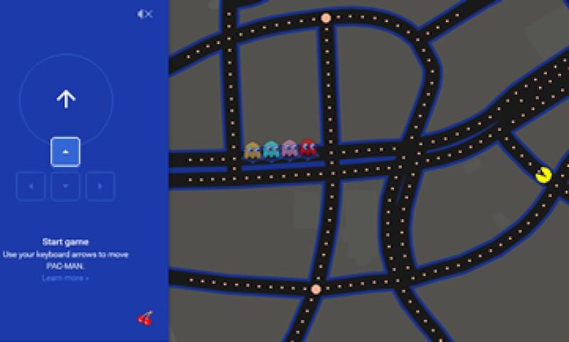 Pac-Man fue lanzado en 1980. (Foto: Tomada de Google Maps)