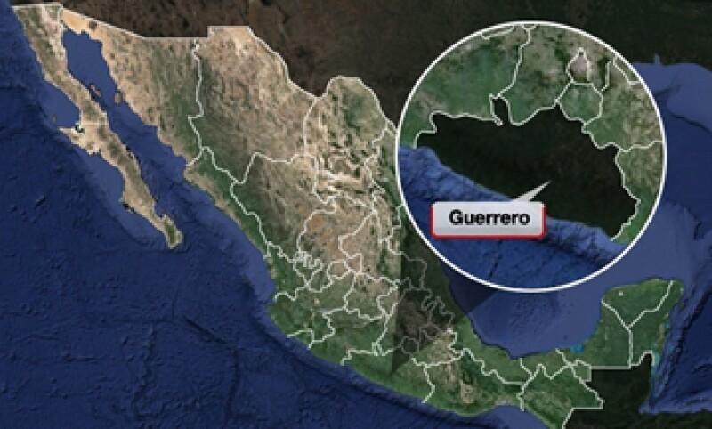 El estado de Guerrero es considerado uno de los más violentos en el país. (Foto: Especial)
