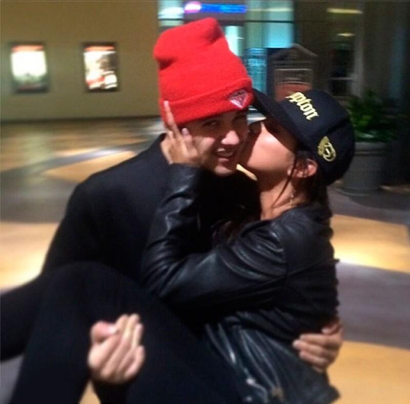 Justin Bieber compartió esta imagen y posteriormente la eliminó de Instagram.