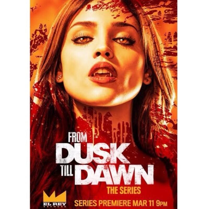 """La actriz dio a conocer un adelanto de """"From Dusk Till Dawn: The Series"""" en donde interpreta el papel que en su tiempo tuvo Salma Hayek en el filme."""