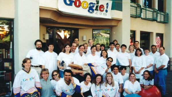 El primer equipo de Google