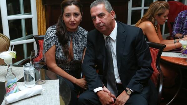 Claudia Ceballos y Juan Carlos Merodio