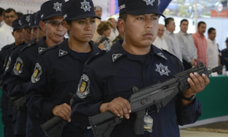 La policía de Guerrero obtuvo una calificación de 4.8 en la evaluación de Causa en Común (Foto: Cuartoscuro/Archivo)