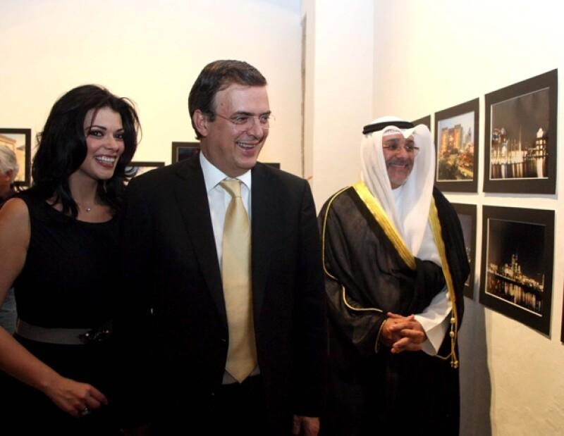 El Jefe de Gobierno y su esposa acudieron ayer al inicio de la Semana Cultural de Kuwait en México.