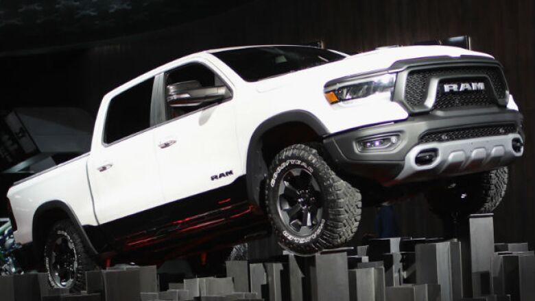 Auto Show Detroit, FCA RAM 1500