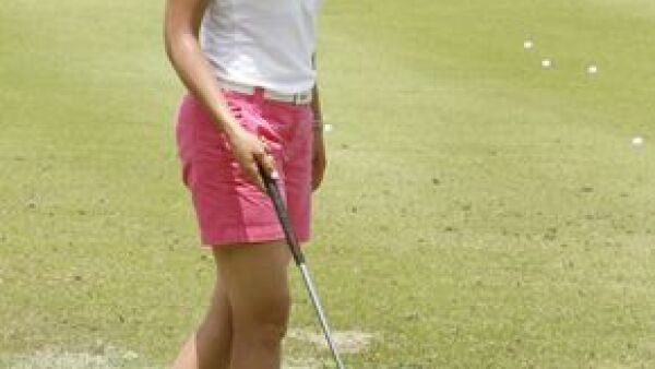 La golfista mexicana no logró el cierre que deseaba y empató con ocho jugadoras.