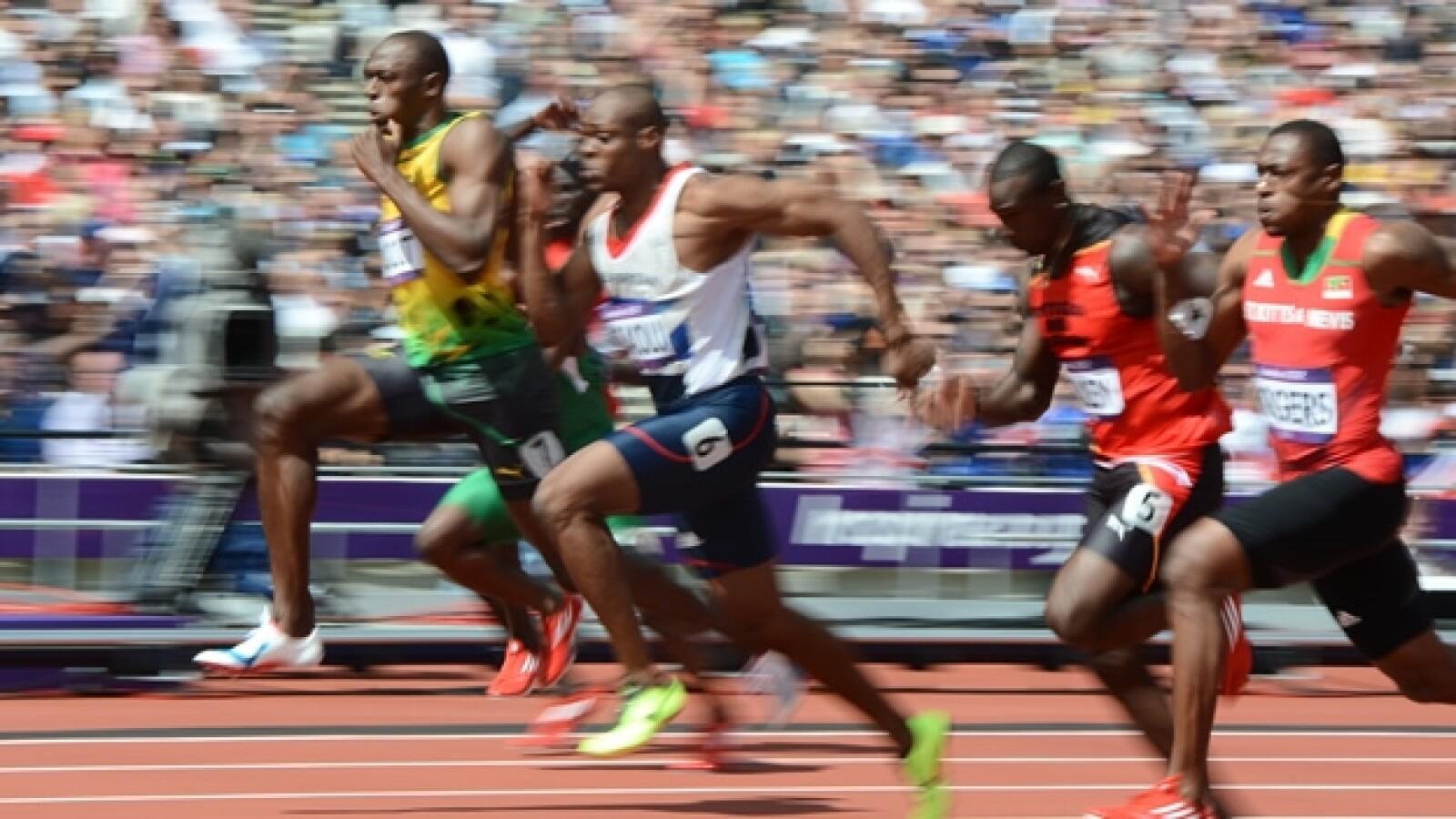 Usain Bolt 100 metros calificación