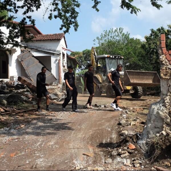 demolicion de la casa de antonio noruega