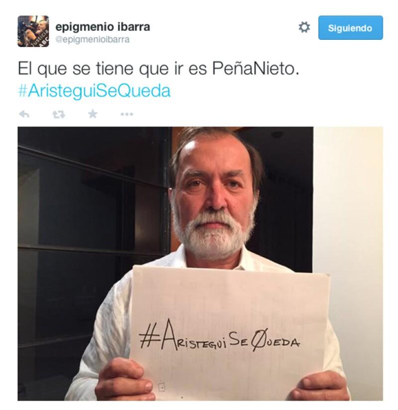 Epigmenio Ibarra, productor.