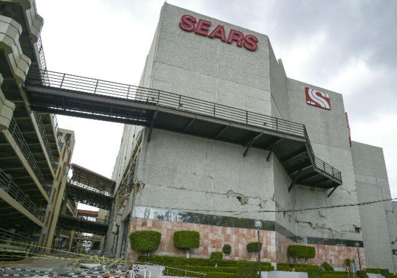 CDMX Galerías Coapa dañado por el sismo