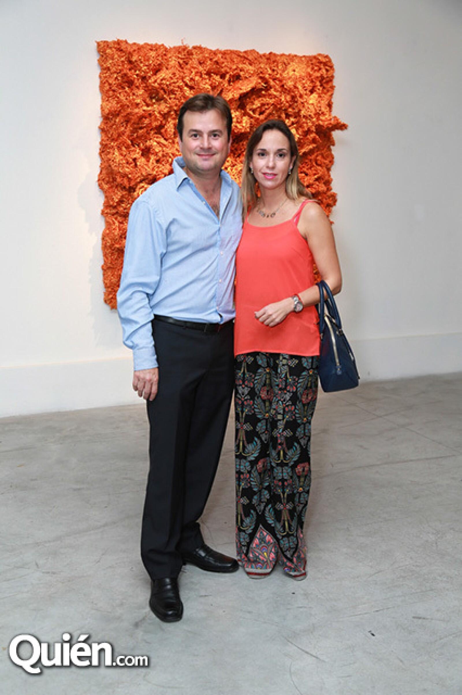 Alfredo Garza y María Elena Quintanilla de Garza