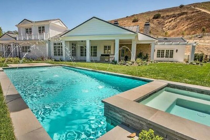 La casa de Kylie mide aproximadamente 7 mil metros cuadrados.