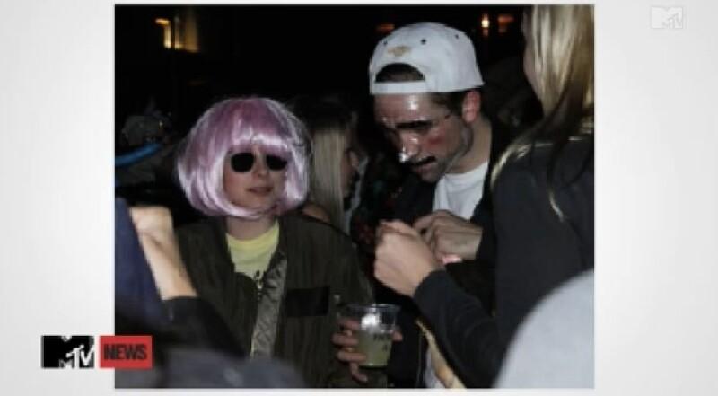 La pareja aseguró que sus disfraces de Halloween no fueron tan impactantes como esperaban.