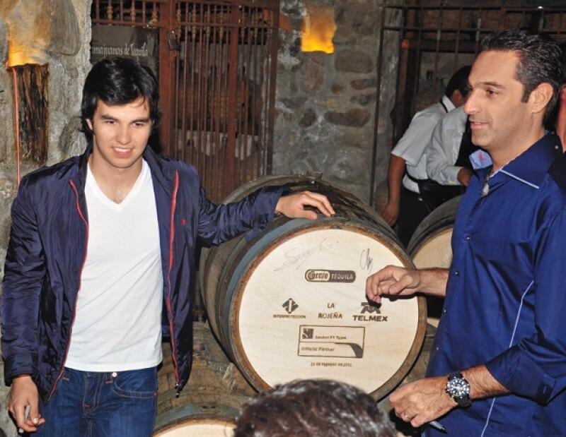 Sergio fue cobijado por la Escudería Telmex, que encabeza Carlos Slim Domit.