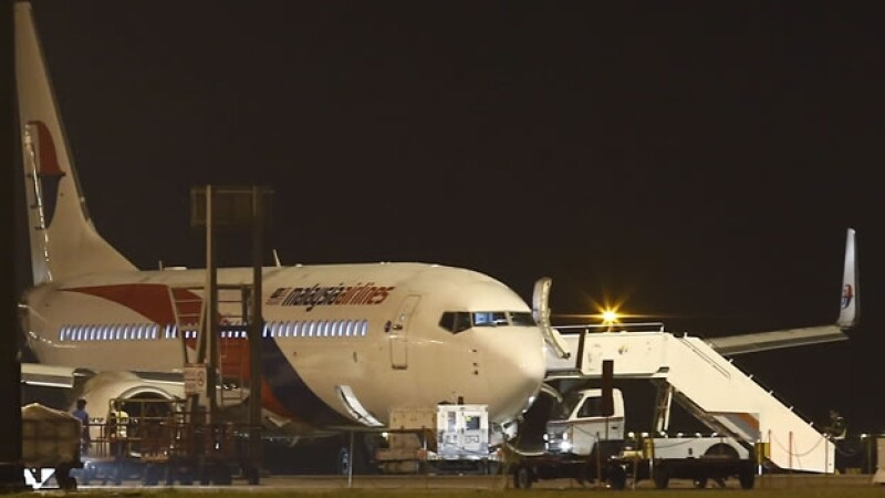 El avión de Malaysia Airlines que tuvo que aterrizar