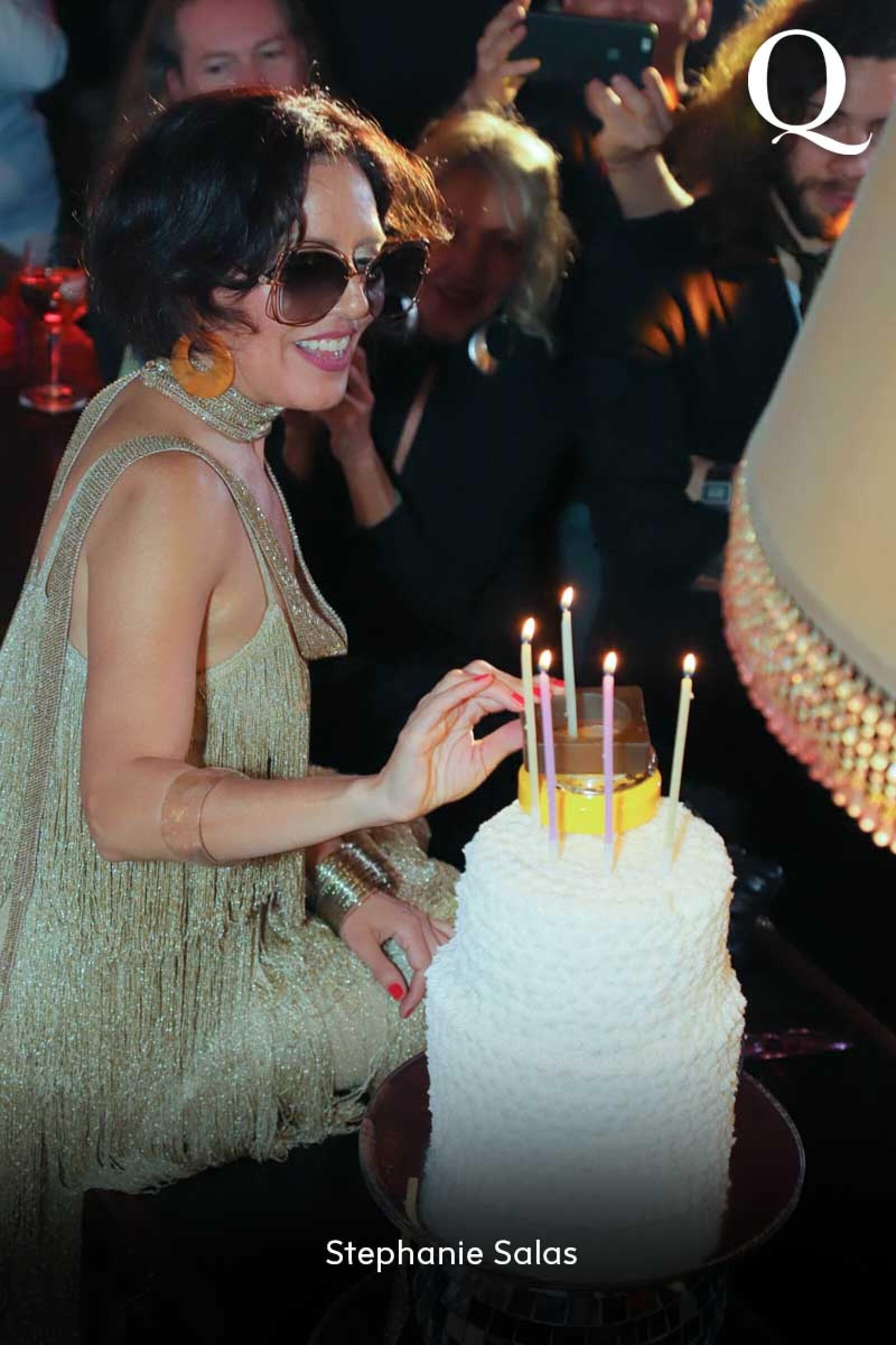 Festejo por el cumpleaños 50 de Stephanie Salas