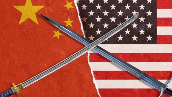 America and China Confrontation