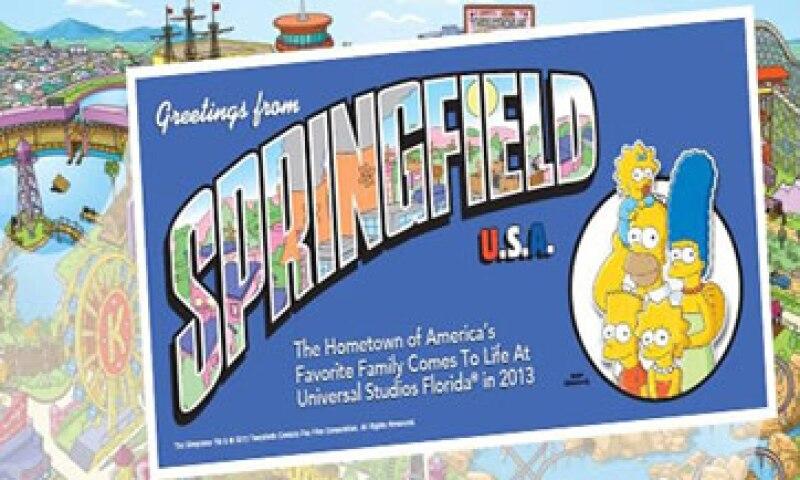 Desde mayo de 2008 en Orlando y en Hollywood ya hay una atracción dedicada expresamente a los populares personajes amarillos de Matt Groening. (Foto: Tomada de Facebook.com/UniversalOrlandoResort)