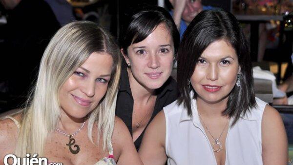 Claudia Torre, Lucía Cueva y Malena Montemayor