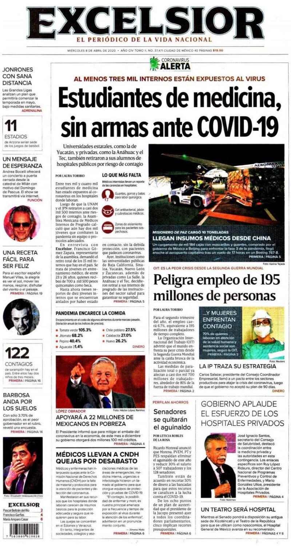 Enportadas Mexico Sigue La Ruta Del Covid 19 En Italia Y Espana