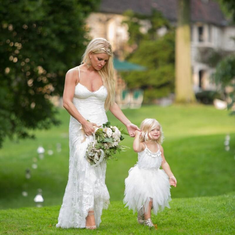 Jessica Simpson se casó el 4 de julio de 2014 en una íntima ceremonia.
