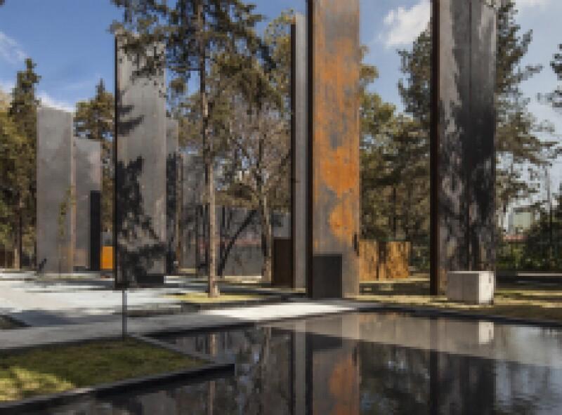 P Memorial a las v�ctimas de la violencia