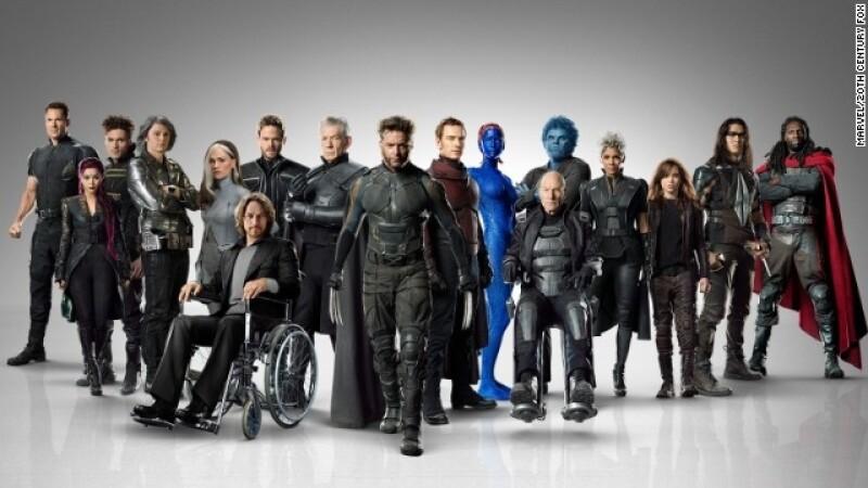 X-Men of 'Days of Future Past'