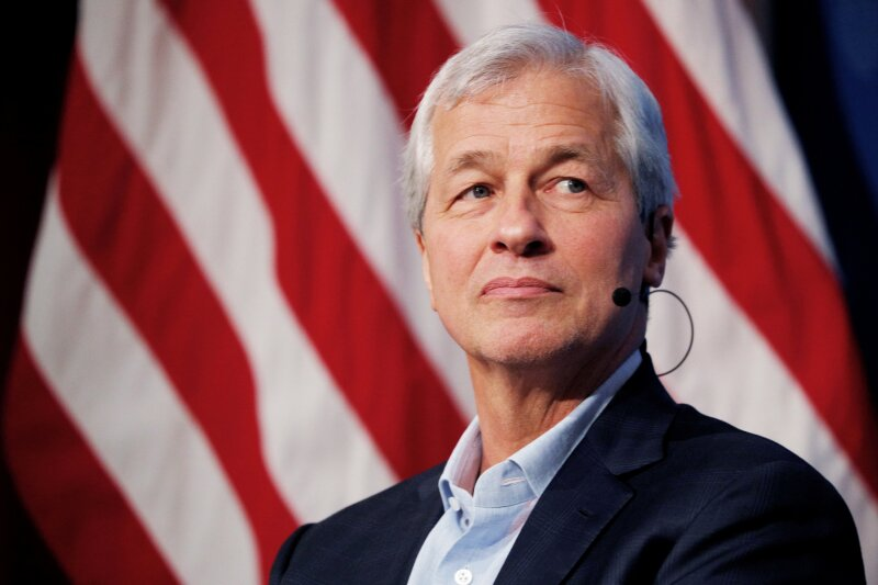 FILE PHOTO:    Dimon, CEO of JPMorgan Chase, takes part in a panel discussion about investing in Detroit at the Kennedy School of Government at Harvard University in Cambridge
