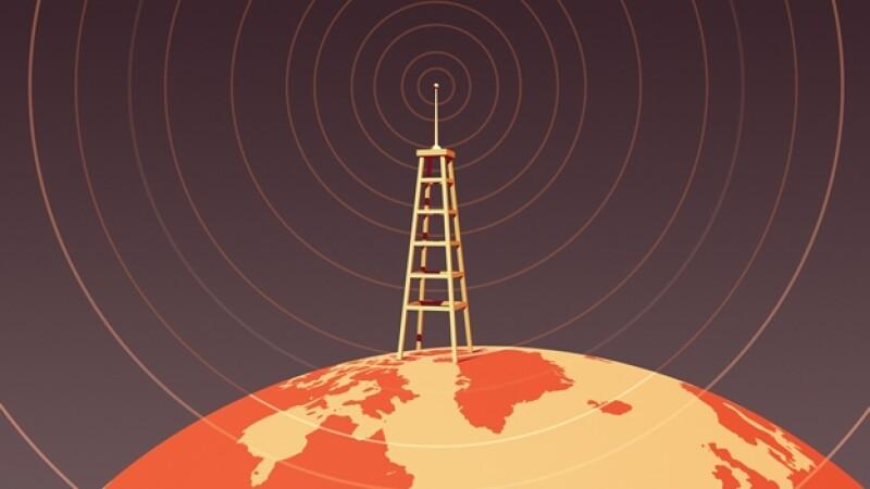 internet acceso mundo señal