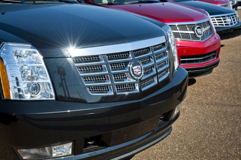 Cadillac Sedan Grills
