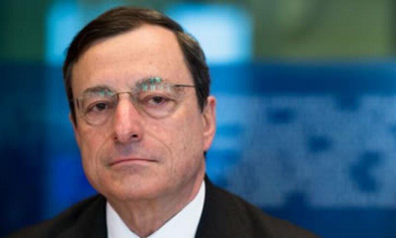 El titular del BCE rechazó que haya riesgos inflacionarios por la inyección de liquidez. (Foto: AP)
