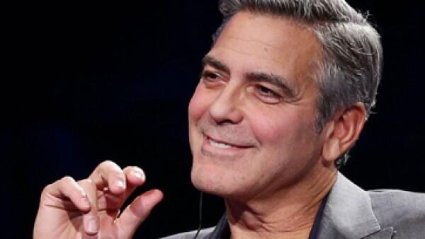 Un 85% de los estadounidenses dice conocer a George Clooney. (FOTO: Fortune)