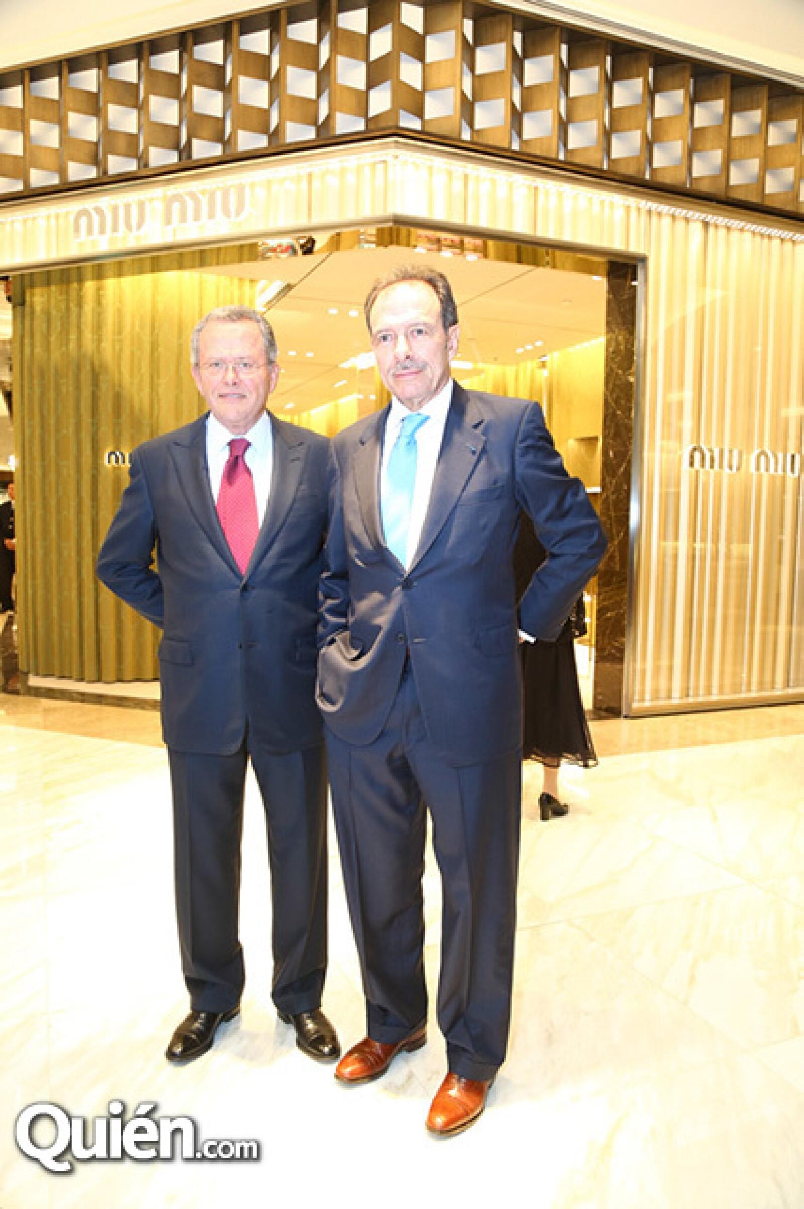 Alfonso Pasquel y Tomás Lozano