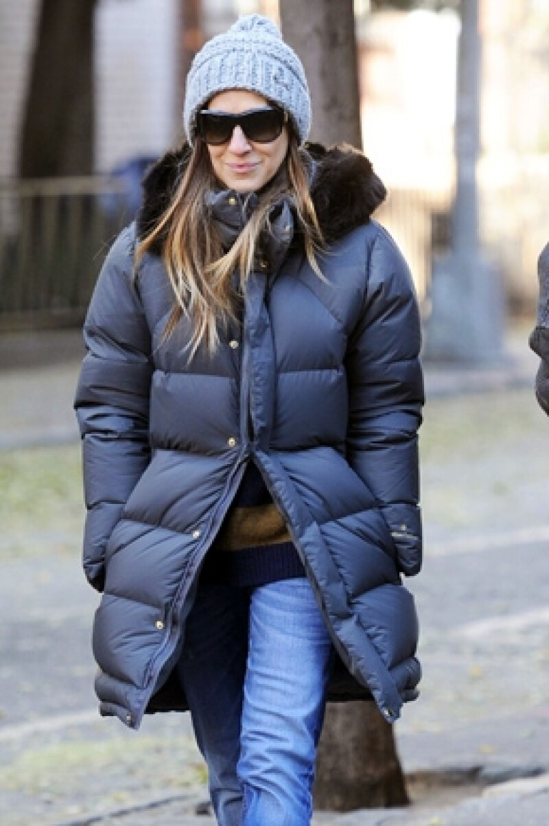 Sarah Jessica Parker es otra famosa que ha tenido problemas por usar calzado alto.