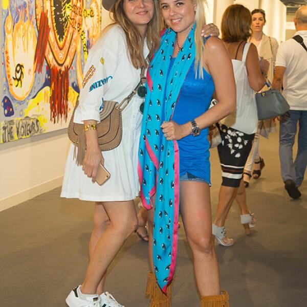 Sharon Benzaray y Vered Rosen