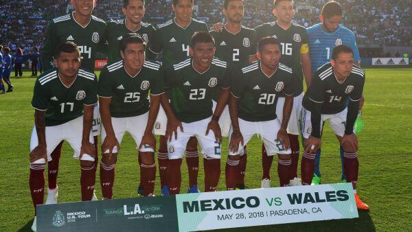 La Selección Mexicana organizó una fiesta.