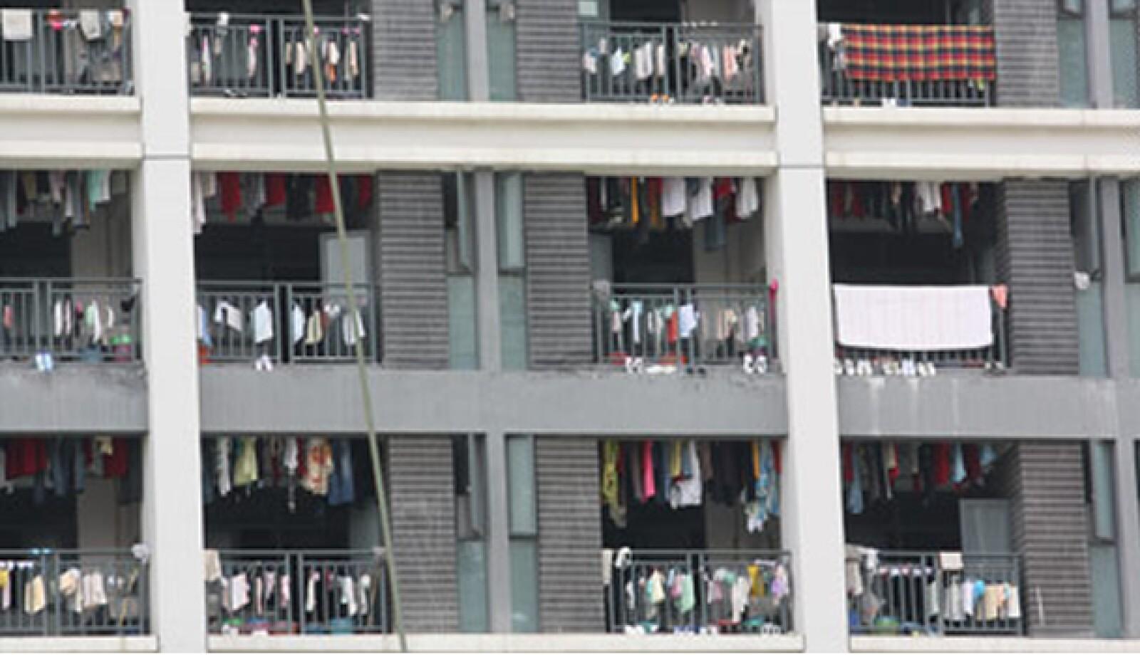 Edificios de viviendas en China