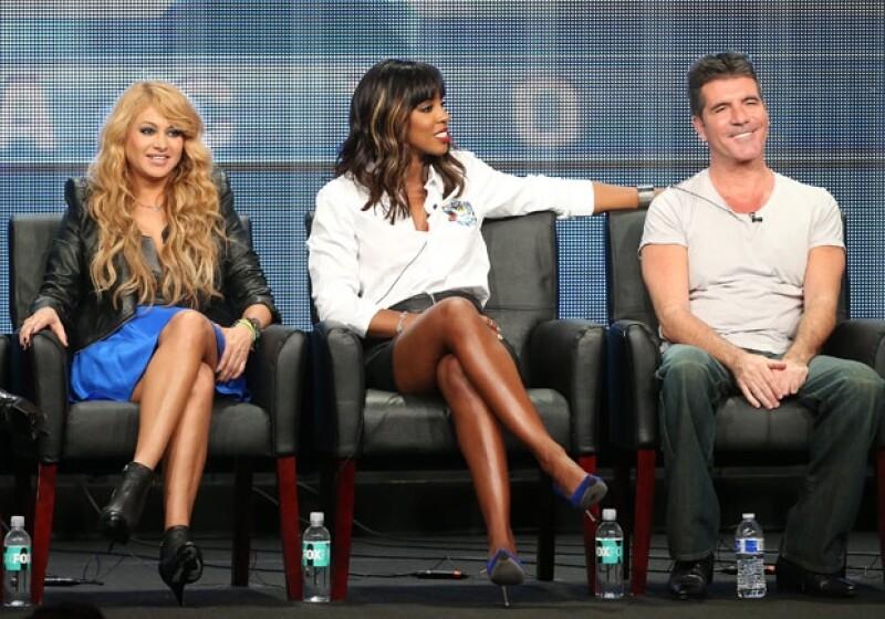 La mexicana y el resto de los jueces de The X Factor aseguraron que la actuación de la rubia en los MTV VMAs fue muy inteligente.