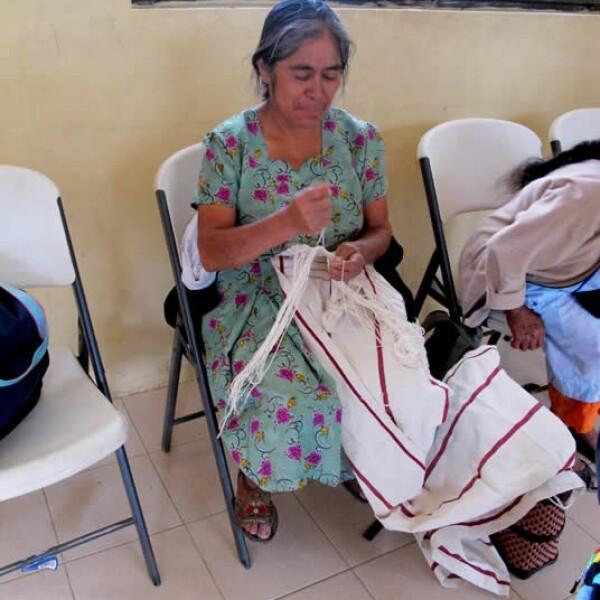 Oaxaca artesanas seda 9