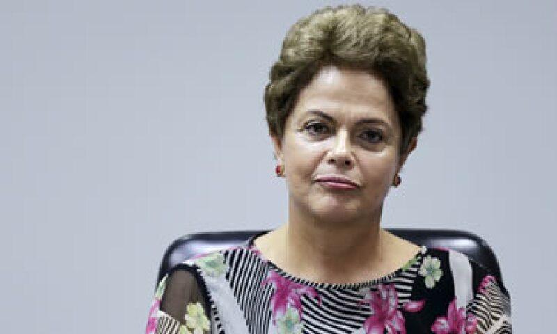 Dilma Rousseff presumió la producción de Petrobras. (Foto: Reuters )