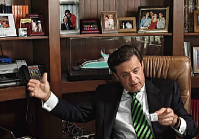 El empresario, aquí en imagen de archivo, puso a la venta algunos de sus bienes personales. (Foto: Adán Gutiérrez)