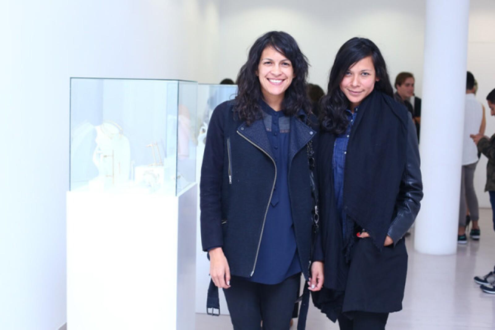 Fabiola Zamora y Danae Salazar
