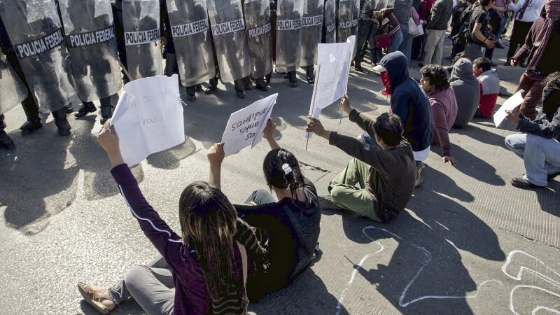 Protestas contra asesinatos