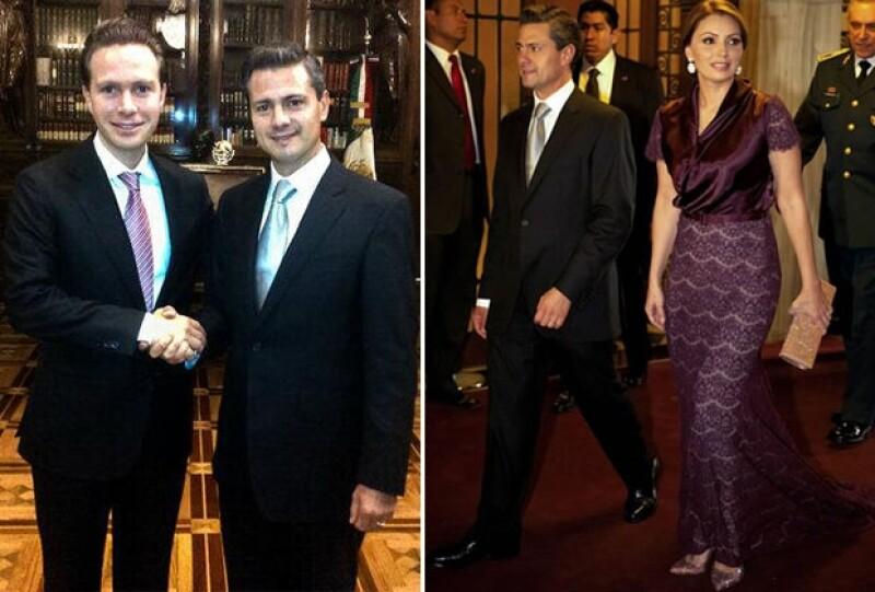 La cantante y el gobernador se muestran más enamorados que nunca, ahora la joven de 30 años nos mostró su lado más sofisticado con un increíble vestido de encaje y peinado elevado.