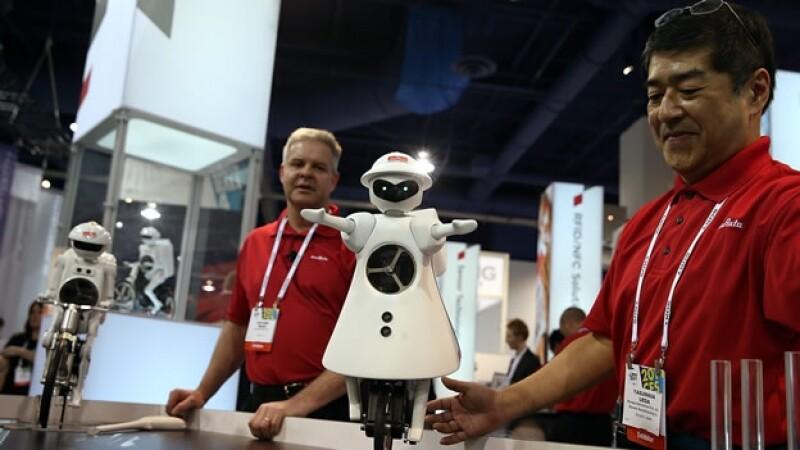 Robot presentado en el CES