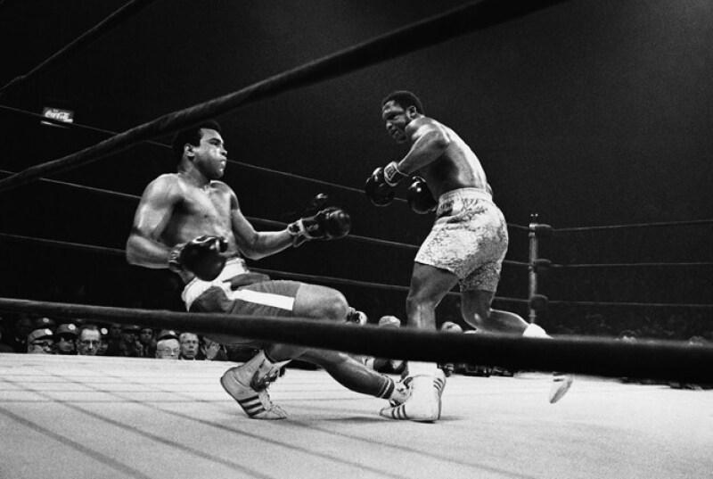 Durante el round 15, Frazier logró mandar a Ali a la lona.