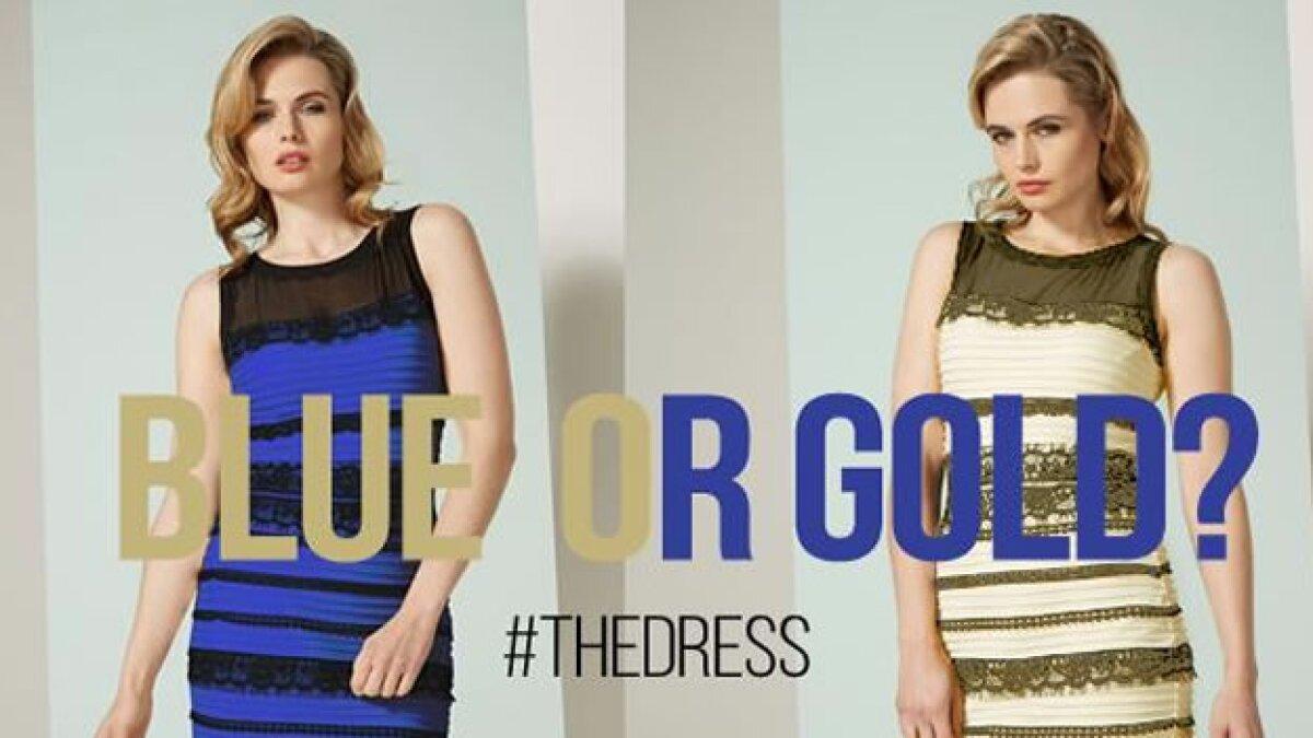 ¿Por qué unos ven el vestido azul y otros blanco?