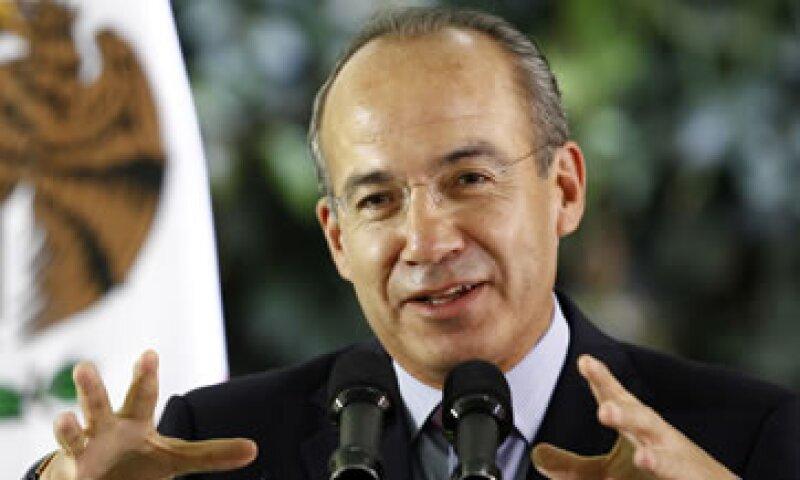 El presidente Felipe Calderón destacó el avance que ha tenido el país en materia de competitividad. (Foto: Notimex)